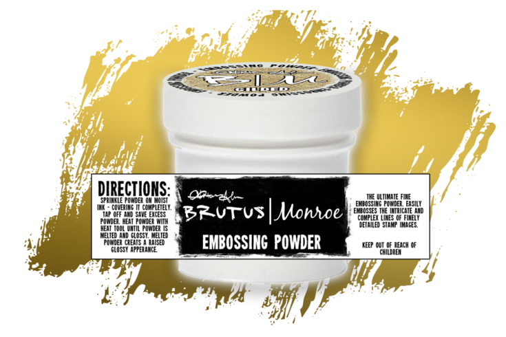 Brutus Monroe - Embossing Powder - Ultra Fine - Gilded