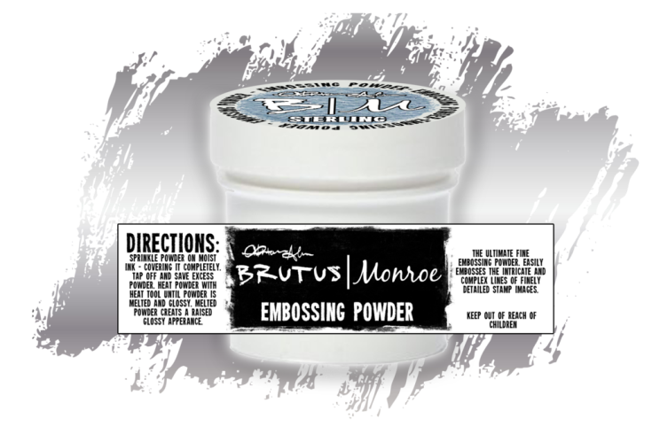 Brutus Monroe - Embossing Powder - Ultra Fine - Sterling