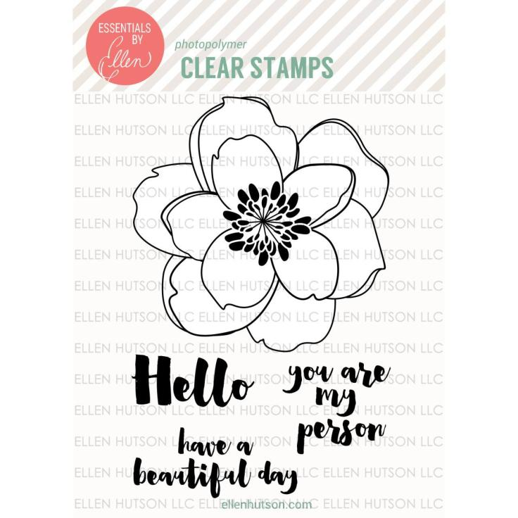 Essentials by Ellen Clear Stamps, Mondo Magnolia by Julie Ebersole