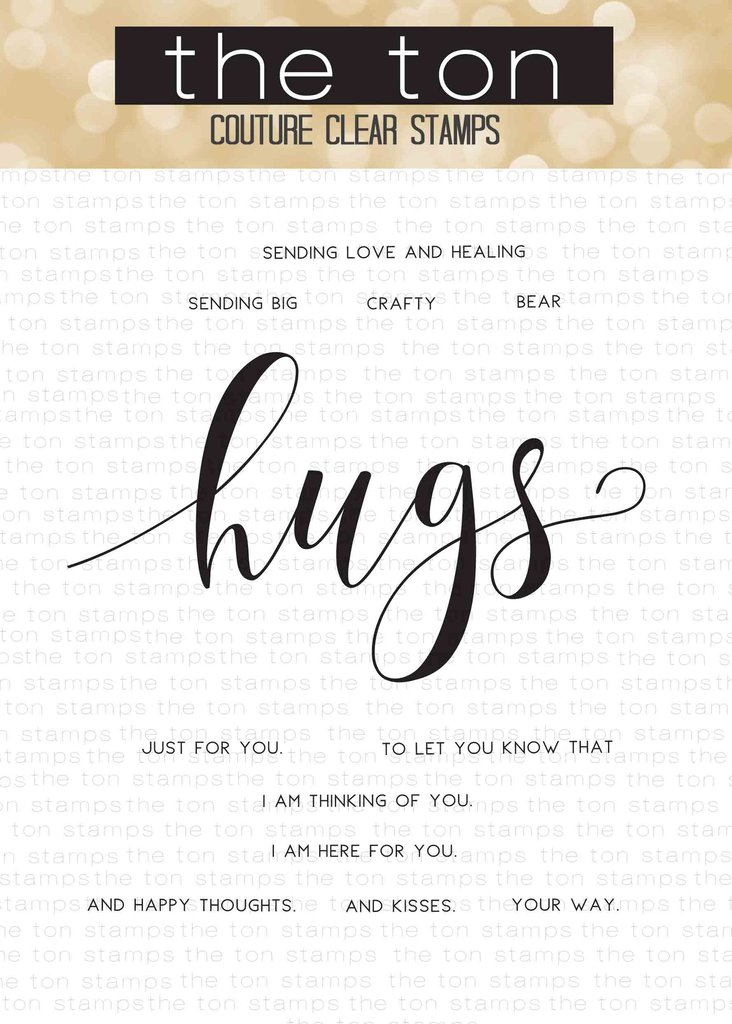 The Ton - Brushed Hugs Sentiments