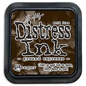 Ranger Ink- Tim Holtz Distress Ink - Ground Espresso