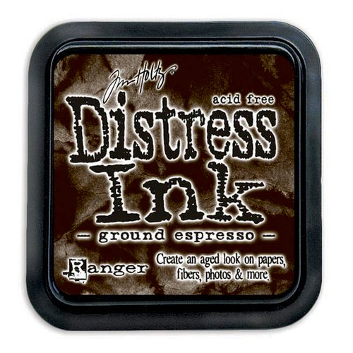 Ranger - Tim Holtz - Distress Ink Pad - Ground Espresso