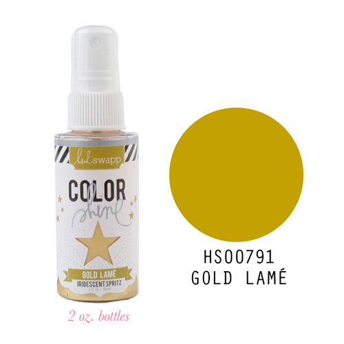 Heidi Swapp - Color Shine Iridescent Spritz - Gold Lame