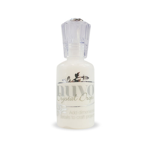 Tonic Studios - Nuvo Collection - Crystal Drops Gloss - White