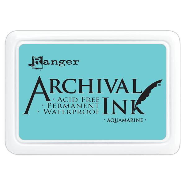 Ranger Archival Ink Pad, Aquamarine