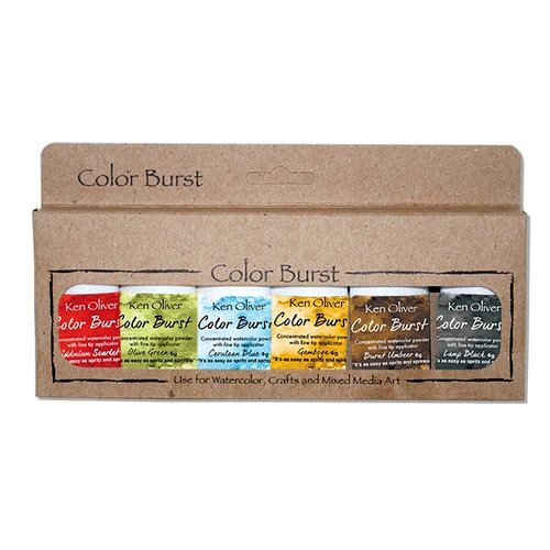 Ken Oliver - Color Burst - Rich Moroccan Shades - 6 Pack