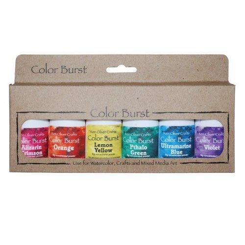 Ken Oliver - Color Burst - Brights Assortment - 6 Pack