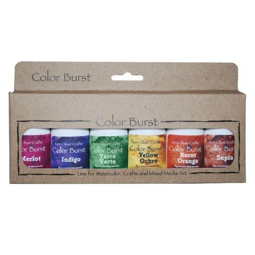 Ken Oliver - Color Burst - Earth Tones - 6 Pack