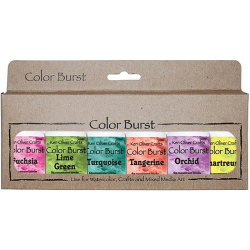 Ken Oliver - Color Burst - Caribbean Brights - 6 Pack