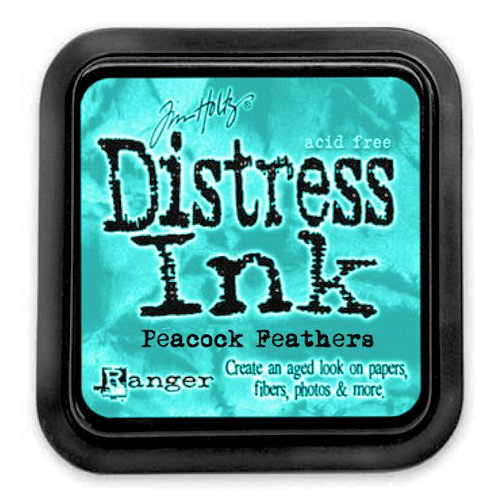Ranger - Tim Holtz - Distress Ink Pad - Peacock Feathers