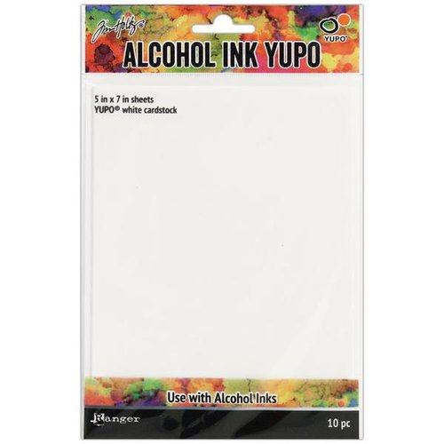 Ranger Ink - Tim Holtz - Alcohol Ink Yupo Paper - White