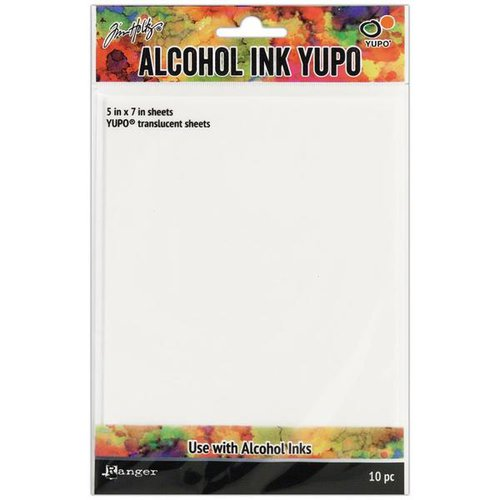 Ranger Ink - Tim Holtz - Alcohol Ink Yupo Paper - Translucent
