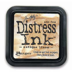 Ranger Ink - Tim Holtz - Distress Ink Pads - Antique Linen