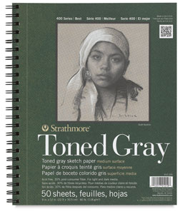 Strathmore 400 Series Recycled Toned Sketch Wirebound Journals