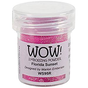 Wow Embossing Powder - Florida Sunset