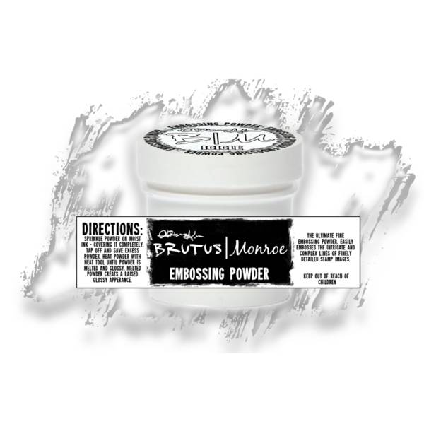 Brutus Monroe - Metallic Embossing Powder - Icicle