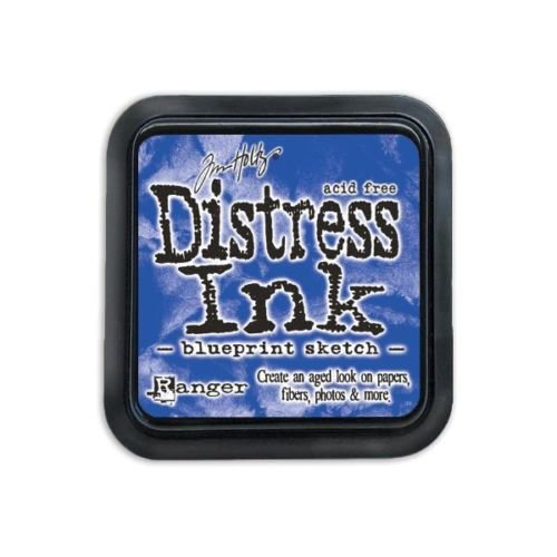 Ranger - Tim Holtz - Distress Ink Pad - Blueprint Sketch