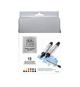 Winsor Newton - Watercolor Marker Set of 12