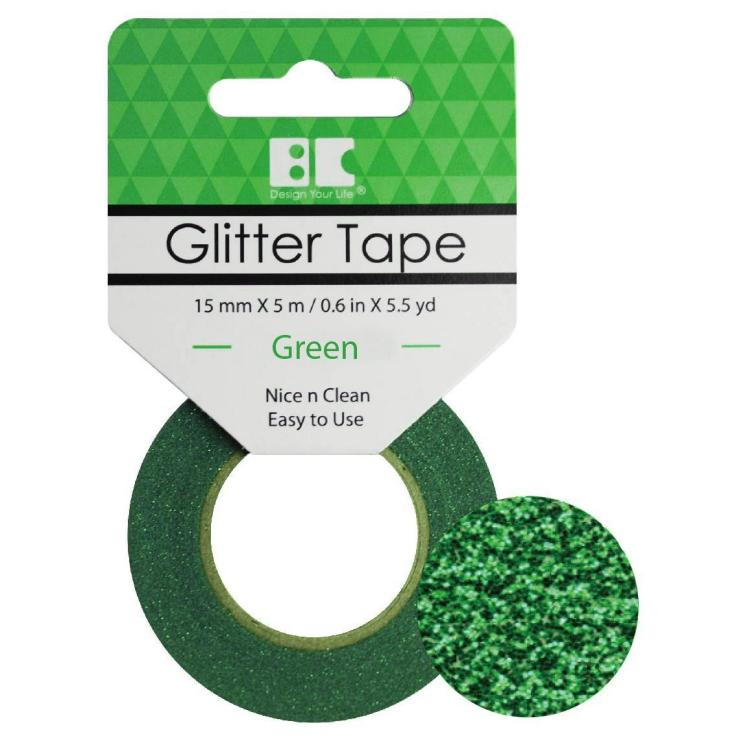 Best Creation Glitter Tape, Green