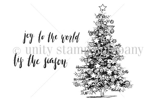Unity Stamp Co - Spruce Up The Season