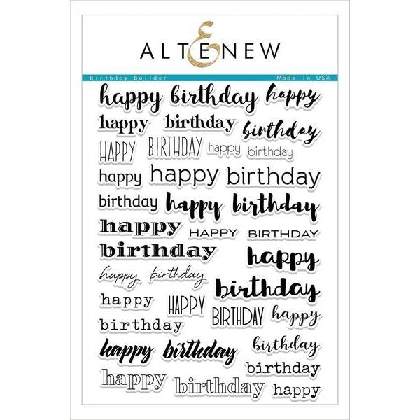 Altenew - Birthday Builder