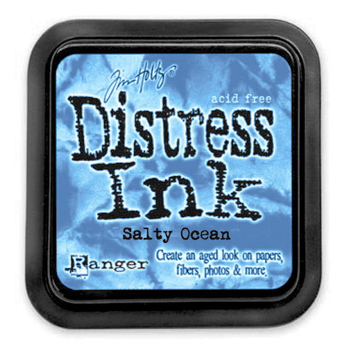 Ranger - Tim Holtz - Distress Ink Pad - Salty Ocean