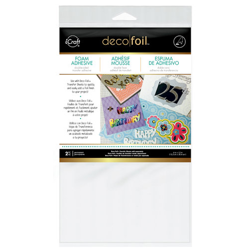 Therm O Web - Deco Foil - Foam Adhesive - White