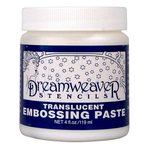 Dreamweaver - Embossing Paste - Translucent