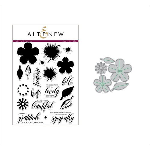 Altenew - Build-A-Flower,  Sakura Blossom