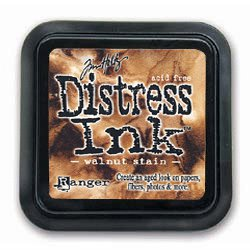 Ranger - Tim Holtz - Distress Ink Pad - Walnut Stain