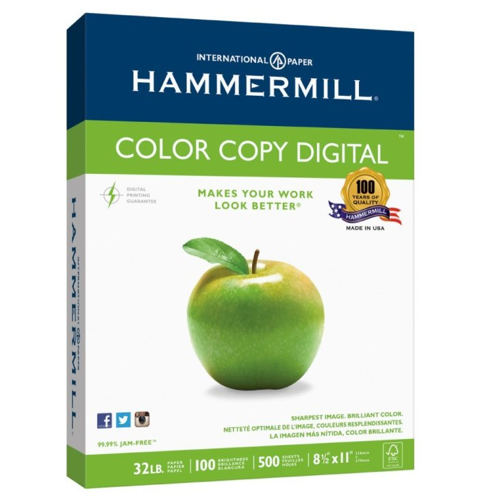 Hammermill Paper, Color Copy Digital, 32lb
