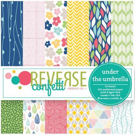 Reverse Confetti - Under The Umbrella Paper Pad