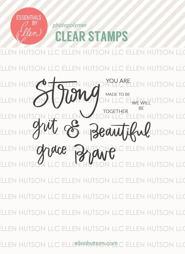 Essentials by Ellen - Be Strong by Brandi Kincaid