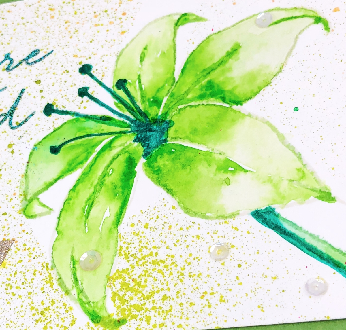 Green Lilly