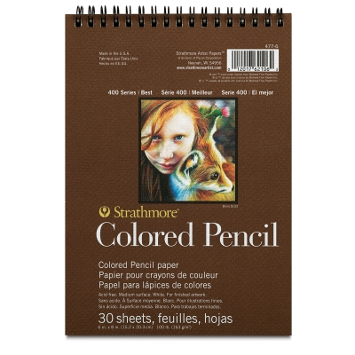 Strathmore - 400 Series Colored Pencil Pad