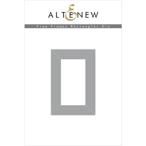 Altenew - Fine Frames Rectangles Die