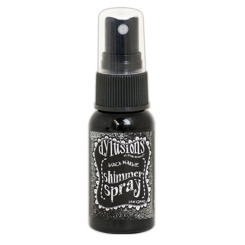 Ranger Ink - Dylusions Shimmer Spray - Black Marble