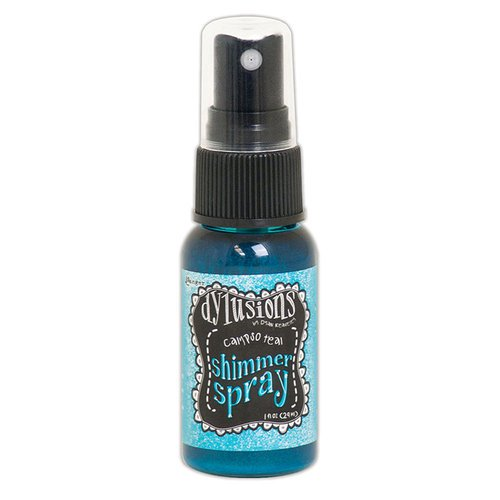 Ranger Ink - Dylusions Shimmer Spray - Calypso Teal