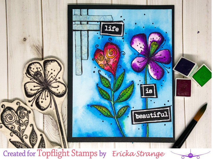 flowerwithstamp
