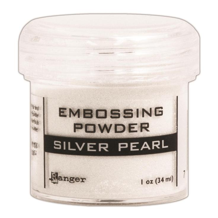 Ranger Embossing Powder - Silver Pearl