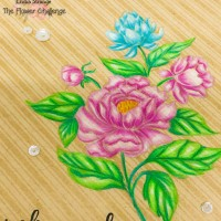 The Flower Challenge #23 - One Layer