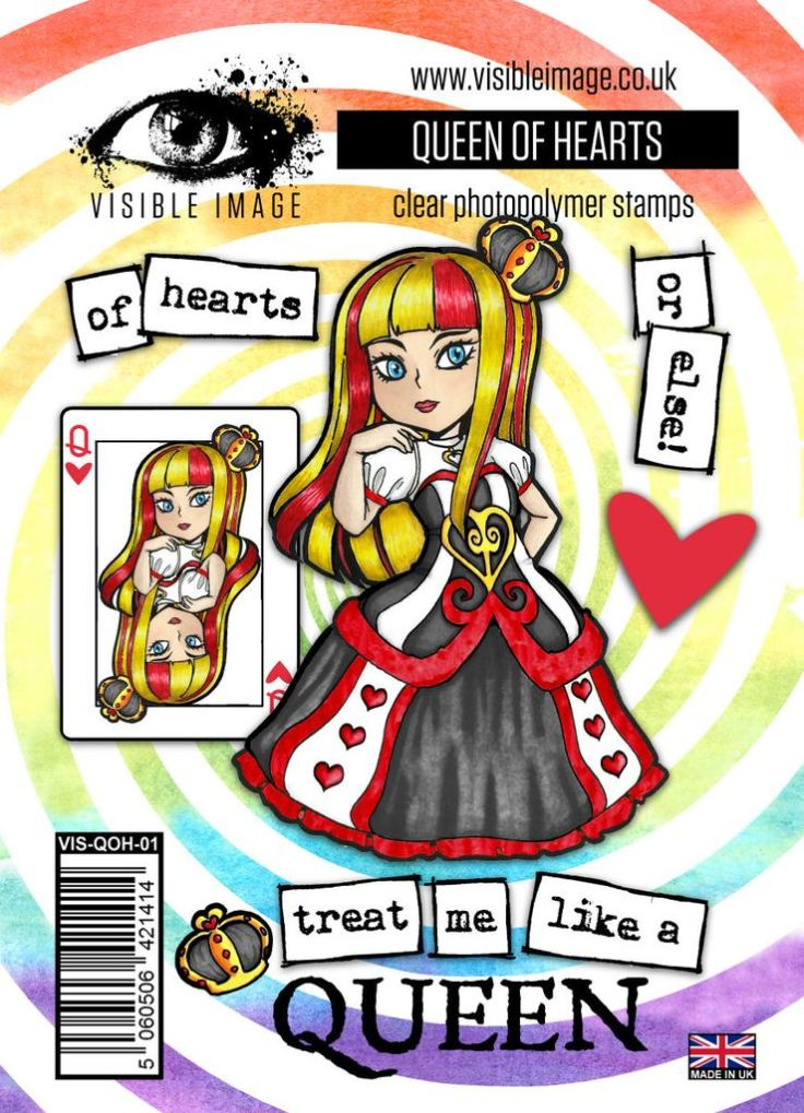 Visible Images - Queen of Hearts