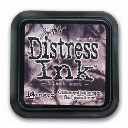 Ranger - Tim Holtz - Distress Ink Pad - Black Soot