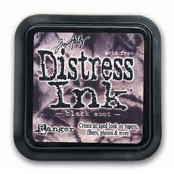 Ranger - Tim Holtz - Distress Ink - Black Soot