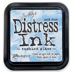 Ranger - Tim Holtz - Distress Ink Pad - Tumbled Glass