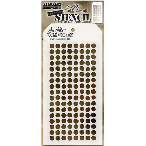 Stampers Anonymous - Tim Holtz - Layering Stencil - Dotted