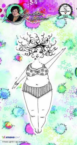 Studio Light - Chubby Chicks - Bikini Lady - Art by Marlene Signature Collection
