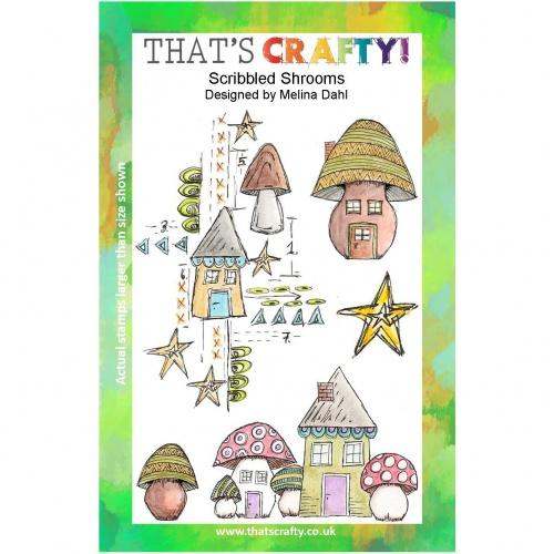 That's Crafty! - Melina Dahl - Scribbled Shrooms