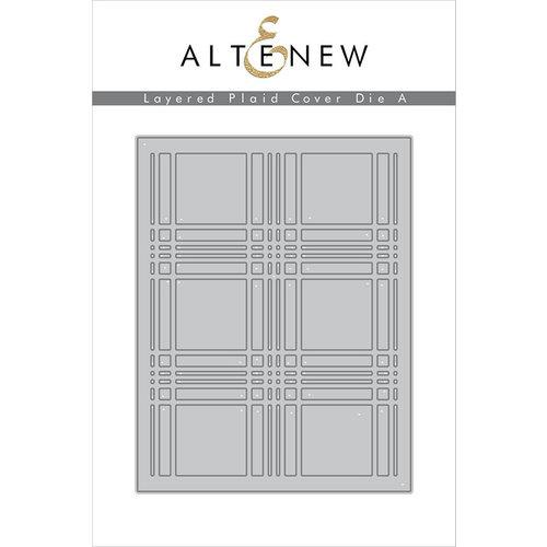 Altenew - Layered Plaid Cover A