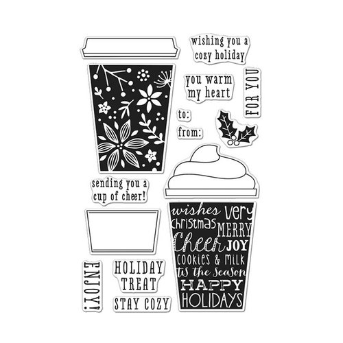 Hero Arts - Coffee Cup Tags